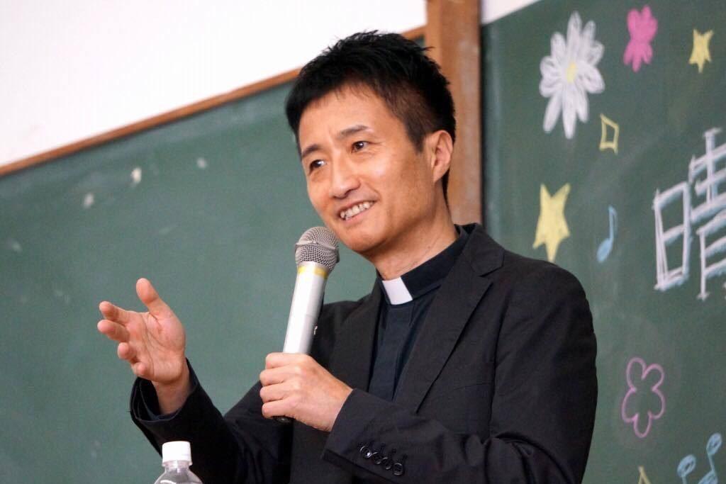 晴佐久昌英神父講演会 「教皇フランシスコを迎える喜び」