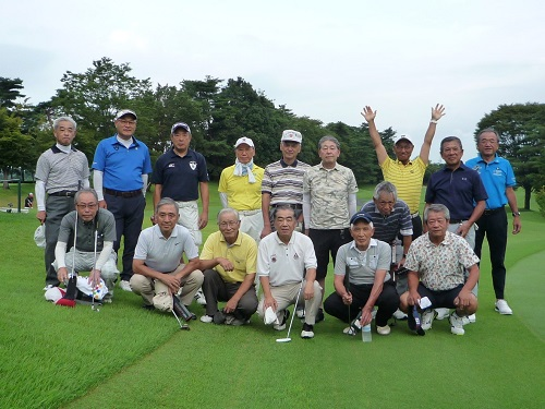 埼玉西部ソフィア会第4回懇親ゴルフ大会