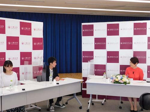 安藤優子さんオンライン講演会 「後輩の皆さんへ ~ニュースの現場で働くということ」