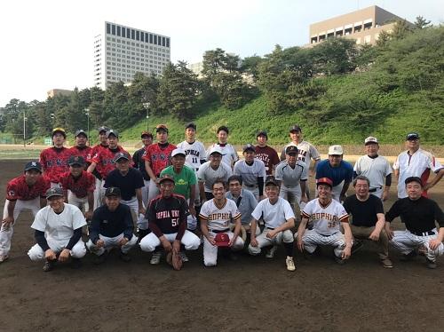 5/26 ASF硬式準硬式OB 軟式野球対抗戦のご報告...