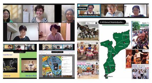 ポルトガル語学科同窓会 留学生とのオンライン交流会 開催報告