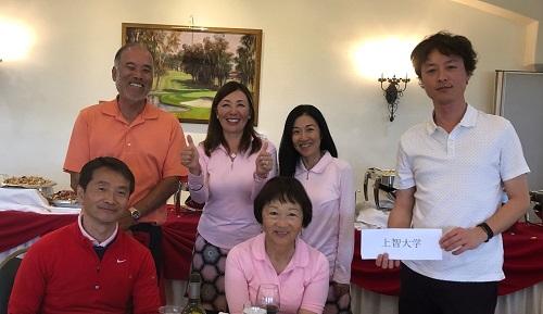南カリフォルニア州 大学同窓会対抗ゴルフ大会2019年度 開...