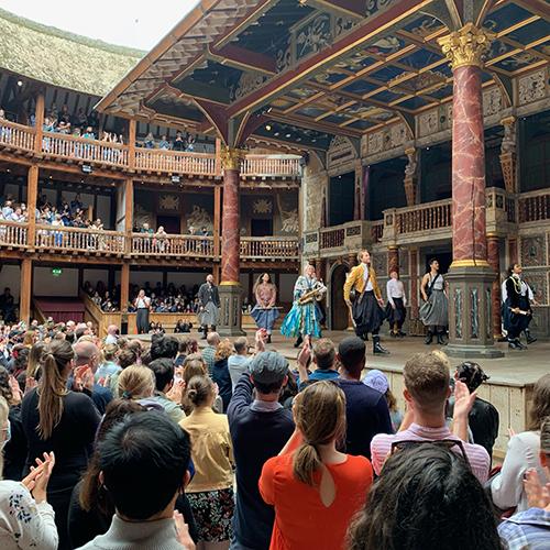 英国ソフィア会 『テンペスト』観劇会@シェイクスピアズグローブ 開催報告(8月29日)